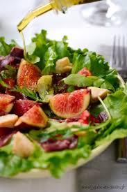 salade verte cuite recette cuisine recette de salade verte figues jambon cru tomates confites et
