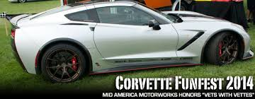 mid america designs corvette mid america motorworks presents corvette funfest 2014 corvette