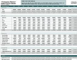 Corporate Budget Template Excel 5 Excel Templates For Business