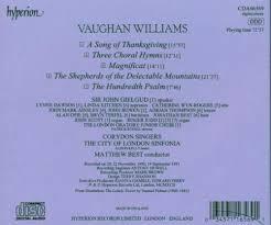 ralph vaughan williams matthew best sinfonia city of