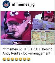 Andy Reid Meme - nfl nflmemes ig memes tst goal kc 10 4th 317 as 18 pit maeele e