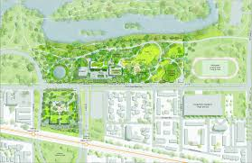 obama foundation will build its own parking garage for the latest site map for the obama presidential center obama foundation