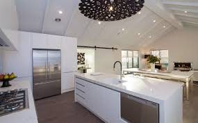 looking out from the kitchen beachlands g j gardner homes new