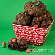 my favorite chocolate christmas cookies love from the oven