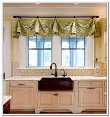 modern kitchen curtains ideas homey ideas modern kitchen valance curtains curtains