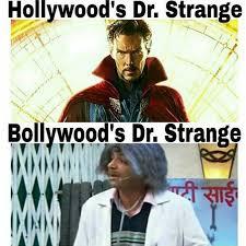 Hollywood Meme - meme hollywood dr strange vs bollywood dr strange