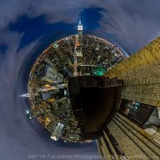 manhattan skyline manhattan skyline night 360 panorama sam rohn 360 photography