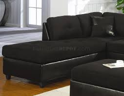 Black Leather Sectional Sofa Sofas Center Black Faux Leather Reclining Motion Sectional Sofa