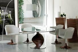 Kika Esszimmer Sessel Esstisch Glas Holz Rund Mobelplatz Com