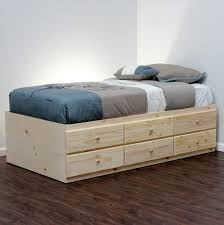 Easy Build Platform Bed Plans by Bed Frames Diy Twin Storage Bed Diy Platform Bed With Storage