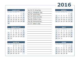 2016 yearly calendar two page 02 free printable templates