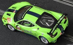 Ferrari 458 Green - carrera 27455 ferrari 458 italia gt2 krohn racing 2012