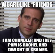 Winter Break Meme - the good and bad of winter break described by the office memes
