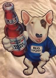 bud light tin signs budweiser bud light beer spuds mackenzie dog metal tin sign 1989