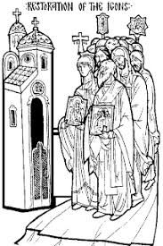 sunday of orthodoxy coloring page u2013 adventures of an orthodox mom