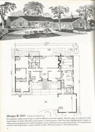 Antique House Plans Vintage House Plans Mid Century Homes Vintage Homes Plan