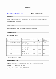 exceptional latest resume format forers mechanical engineers free