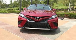 toyota desktop site first drive 2018 toyota camry boasts fuel economy safety features