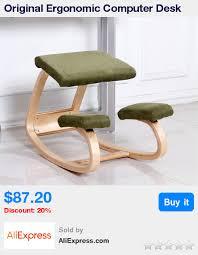 Ergonomic Home Office Furniture Original Ergonomic Computer Desk Kneeling Chair Stool Home Office