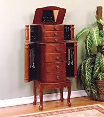 Where To Buy A Jewelry Armoire Amazon Com Powell Porter Valley Jewelry Armoire Kitchen U0026 Dining