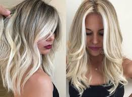 try balayage for your new haircolor trends 2017 medium blonde