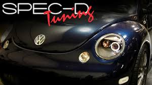 volkswagen beetle modified black specdtuning installation video 1998 2005 volkswagen beetle