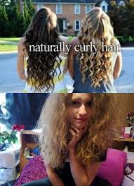 Curly Hair Meme - girls with real naturally curly hair are prettier meme