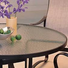 stylish glass outdoor table top replacement mer enn 25 bra ideer