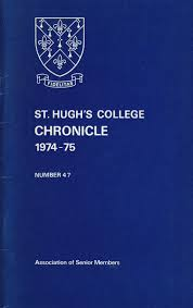 st hugh u0027s college oxford chronicle 1974 1975 by st hugh u0027s