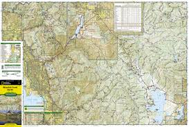 Topographic Map Of Utah by Wasatch Front North National Geographic Trails Illustrated Map