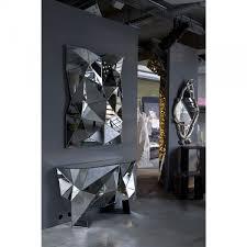 esszimmer spiegel spiegel prisma 120x80cm kare design