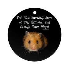 the hamster ornament the hamster irony design shop