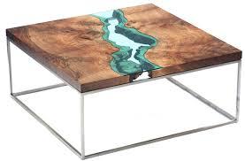 walnut river coffee table greg klassen furniture home ideas