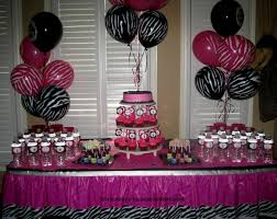 zebra baby shower baby shower zebra themes party decorating of party