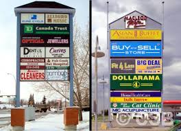 Bulk Barn Airdrie Pole Signs Calgary Pylon Signs Calgary Company Specialized In