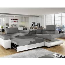 modeles de canapes salon optez pour un canapé d angle avec méridienne et lit d appoint de