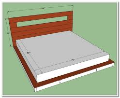King Size Platform Bed With Storage Drawers King Size Platform Bed With Storage Plans Home Design Ideas