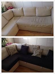 tissu pour recouvrir canapé petit relooking d un canapé qui en avait bien besoin le monde d