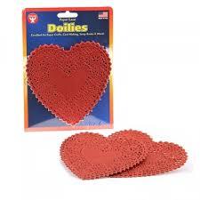 heart doilies paper heart doilies