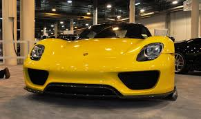Porsche 918 Yellow - 2015 porsche 918 spyder weissach package with xpel paint protection 15