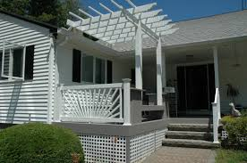 a new beginning for this burlington ct side porch that promises