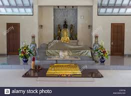 borobudur java indonesia mendut buddhist monastery prayer room