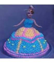 order barbie doll cartoon cake 3 kg indiacakes