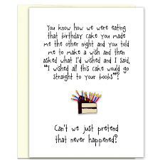 funny birthday card for friends birthday katmariacastudio