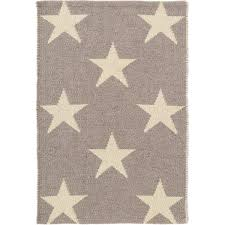 Modern Outdoor Rugs by Star Grey Ivory Indoor Outdoor Rug The Outlet
