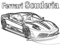 sports cars coloring pages free large images ferrari 458 italia