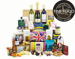 Gift Food Baskets Luxury British Food Hampers And Gift Baskets To Spain