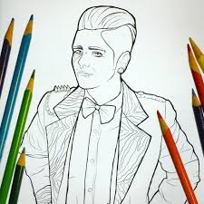 your new favorite coloring book honors the drag kings and