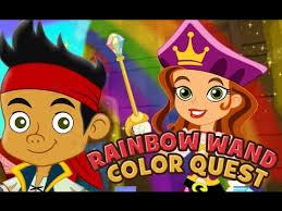 jake neverland pirates game episodes rainbow wand