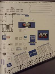 Expo Floor Plan by Virtual Tour Of The 2014 Ufc Fan Expo The Flying Armbar